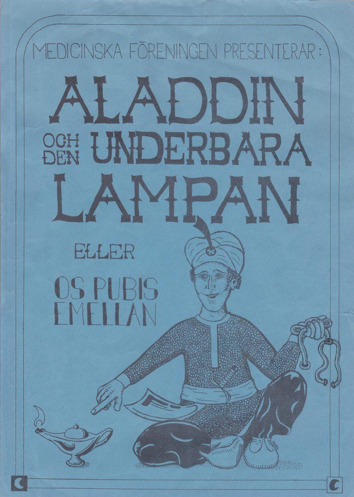 1983Aladdin-programblad
