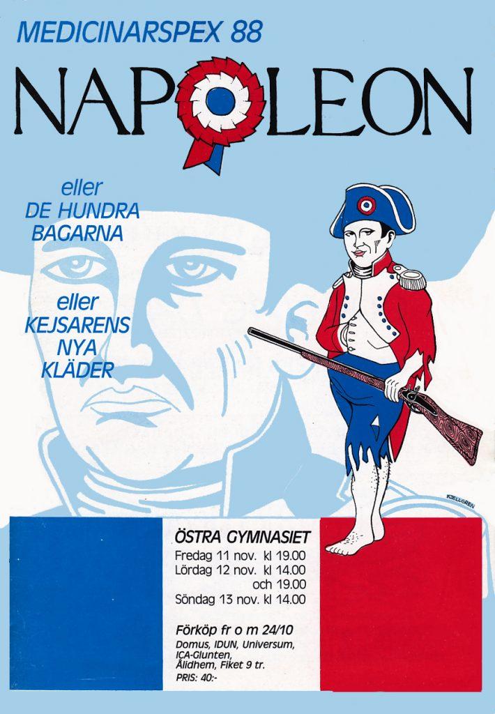 1988 Napoleon affisch